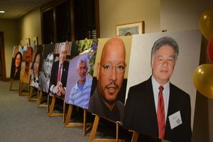 Row of Alumni Portraits